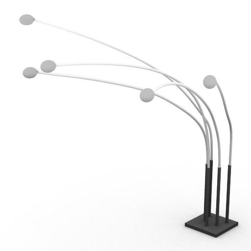 Cad 3D Free Model kundalini  ray_bow5