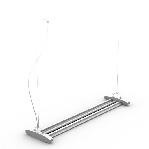 Cad 3D Free Model metal_spot  61020
