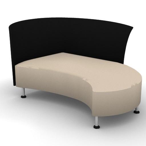 Cad 3D Free Model Montis  juliet_chaiselongue