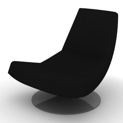 Cad 3D Free Model Montis  olivier_poltrona