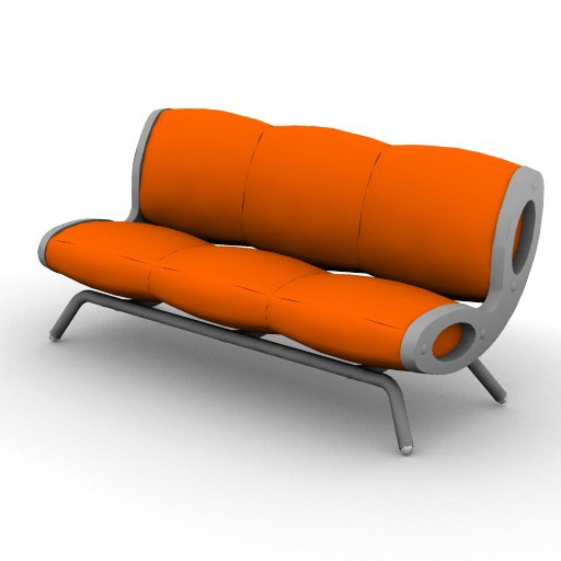 Cad 3D Free Model moroso  gluon_003