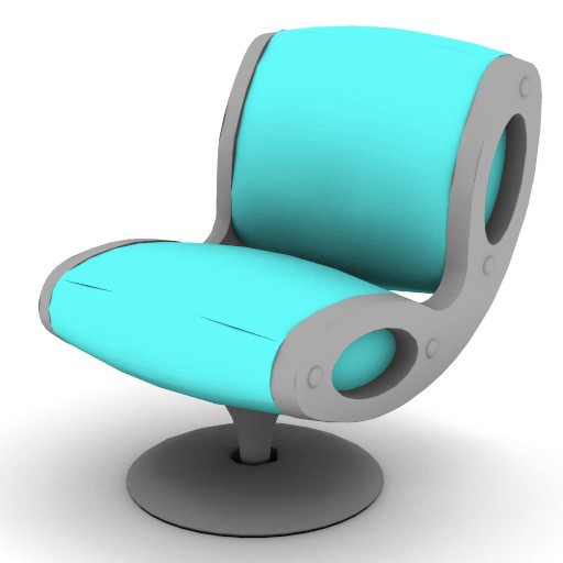 Cad 3D Free Model moroso  gluon_0v6