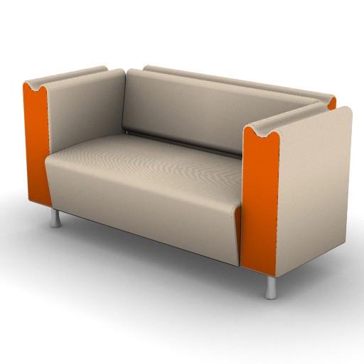 Cad 3D Free Model Moroso  m_sofa_002