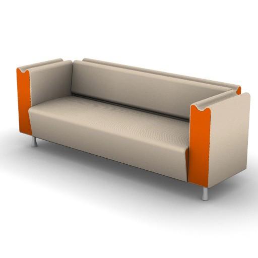 Cad 3D Free Model Moroso  m_sofa_003