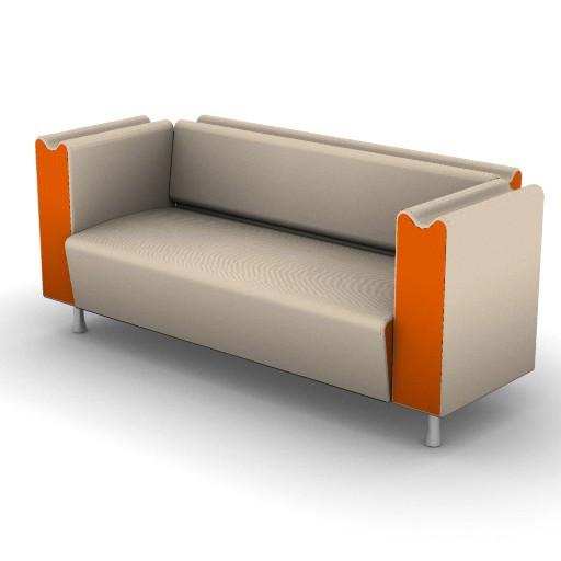 Cad 3D Free Model Moroso  m_sofa_018