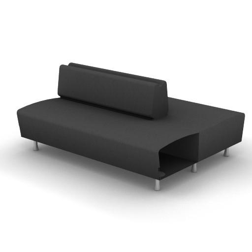Cad 3D Free Model Moroso  m_sofa_0w0