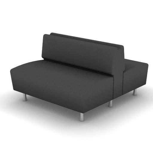 Cad 3D Free Model Moroso  m_sofa_0w3