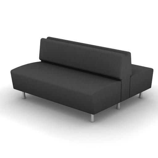 Cad 3D Free Model Moroso  m_sofa_0w5
