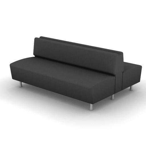 Cad 3D Free Model Moroso  m_sofa_0w6