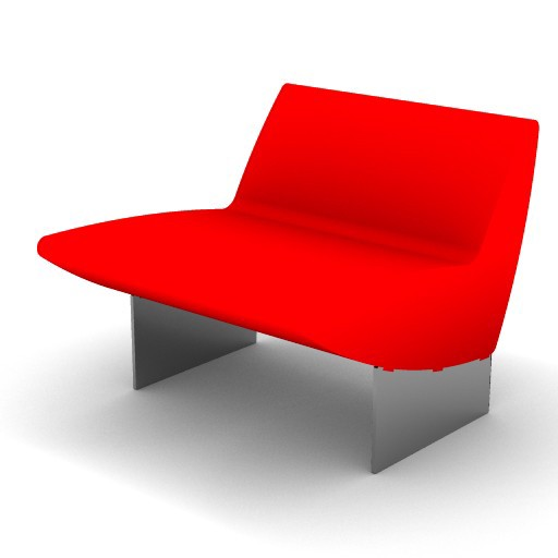 Cad 3D Free Model moroso  serpentine_04a
