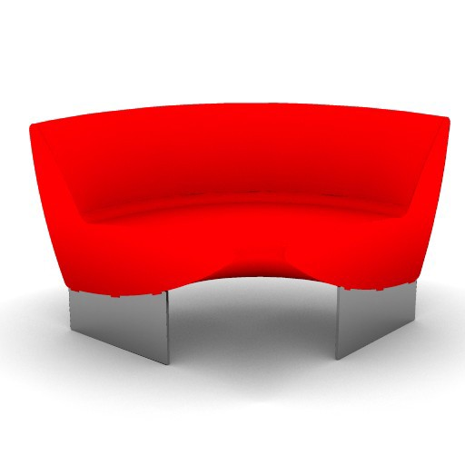 Cad 3D Free Model moroso  serpentine_04h