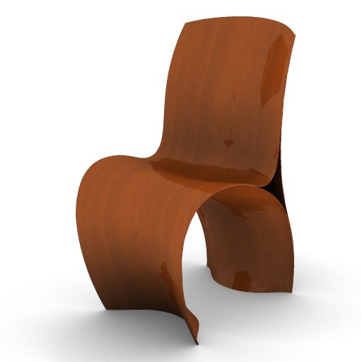 Cad 3D Free Model moroso  three_skin_chair