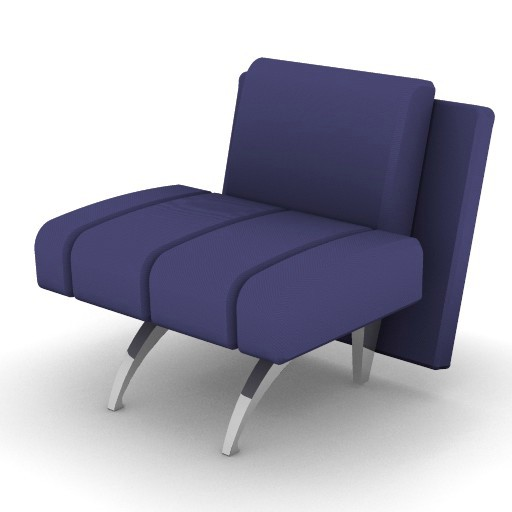 Cad 3D Free Model moroso  waiting_04a