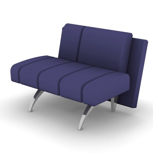 Cad 3D Free Model moroso  waiting_04b