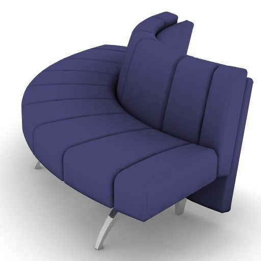 Cad 3D Free Model moroso  waiting_04i