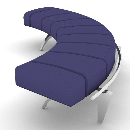 Cad 3D Free Model moroso  waiting_04l