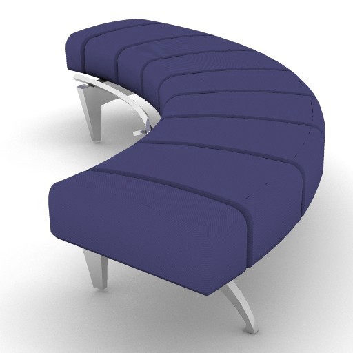 Cad 3D Free Model moroso  waiting_04m