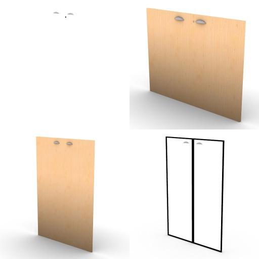 Cad 3D Free Model oec Direzionali Summit 3.contenitori  ante