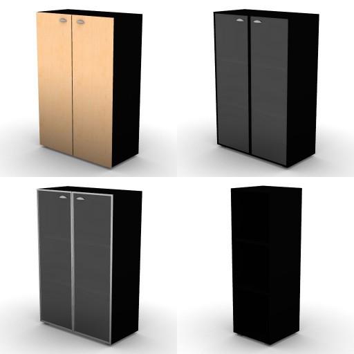 Cad 3D Free Model oec Direzionali Summit 3.contenitori  medi