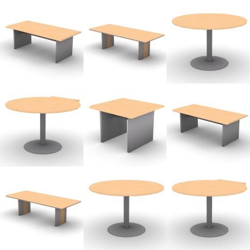 Cad 3D Free Model oec Direzionali Summit  tavoli
