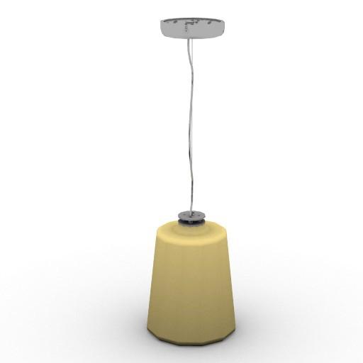 Cad 3D Free Model oluce  lanterna_477