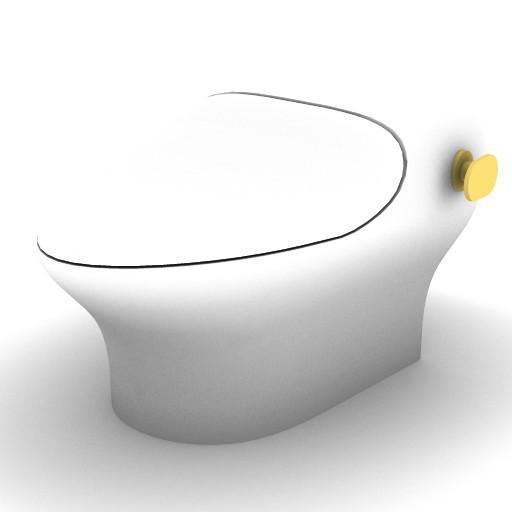 Cad 3D Free Model sottini  belvedere_bidet