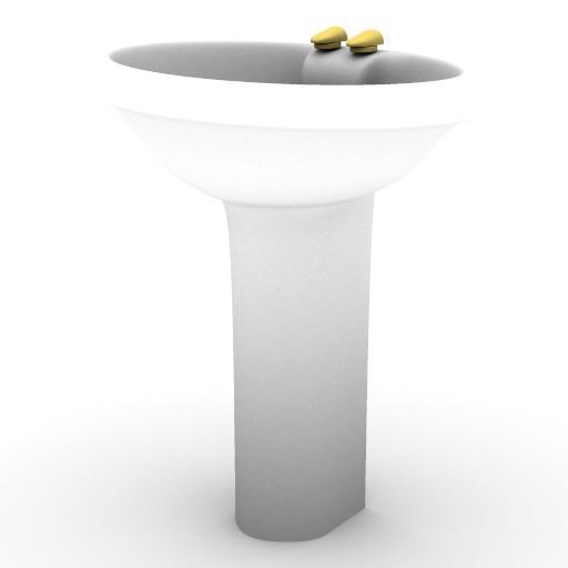 Cad 3D Free Model sottini  belvedere_lavabo