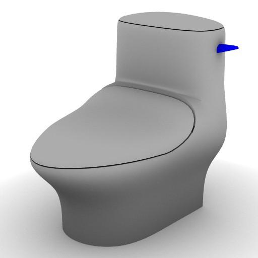 Cad 3D Free Model sottini  belvedere_wc