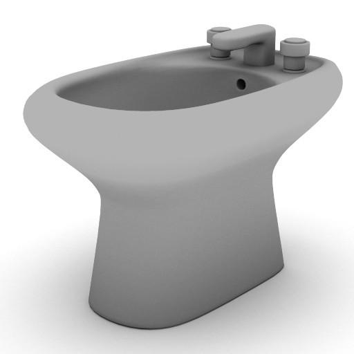 Cad 3D Free Model sottini  palazzo_bidet