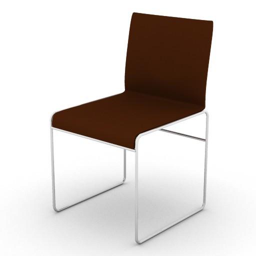 Cad 3D Free Model varaschin  slo_sedia