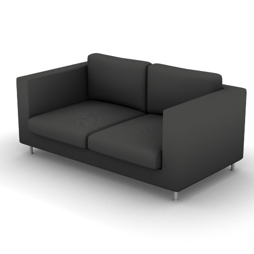 Cad 3D Free Model vibieffe  175_liner_divano_170