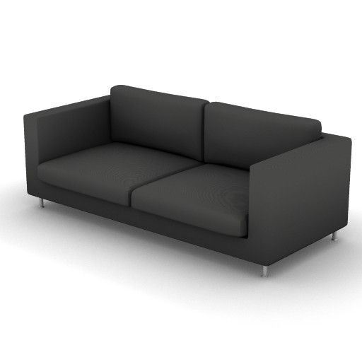 Cad 3D Free Model vibieffe  175_liner_divano_210