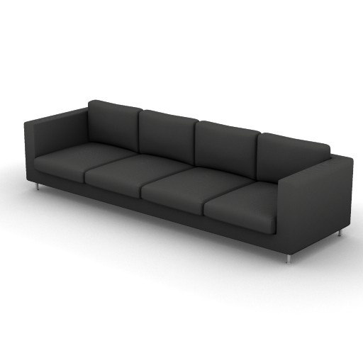 Cad 3D Free Model vibieffe  175_liner_divano_306