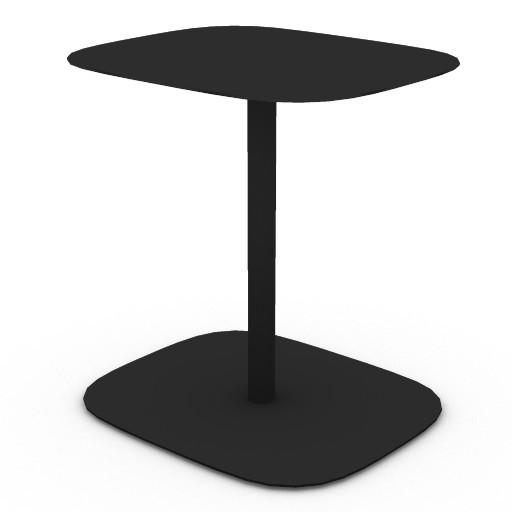 Cad 3D Free Model zanotta  acca_tavolino