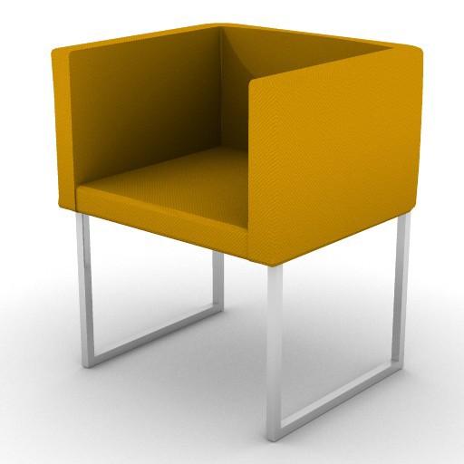 Cad 3D Free Model zanotta  cubica