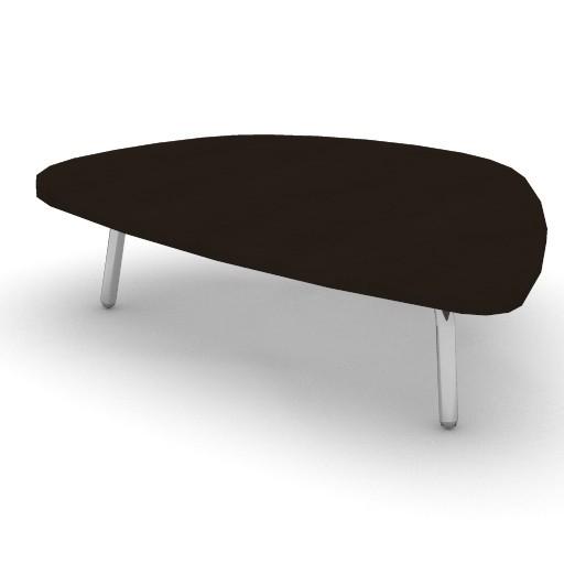 Cad 3D Free Model zanotta  petalo_tavolino