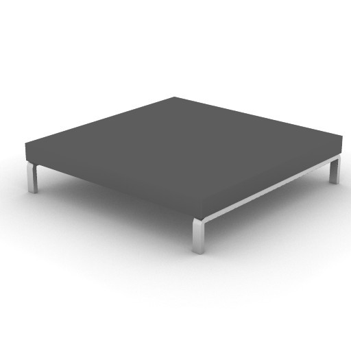 Cad 3D Free Model zanotta  romeo_quad