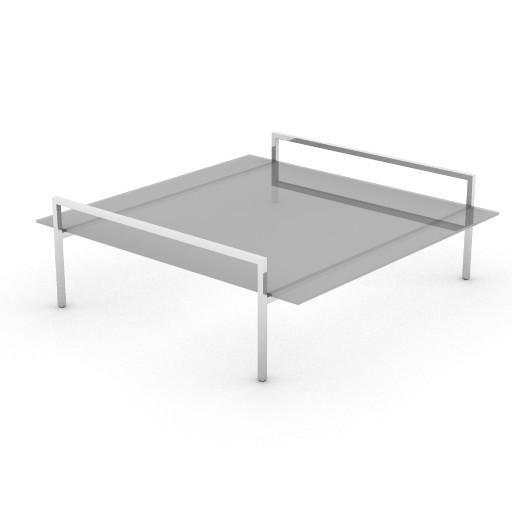 Cad 3D Free Model zanotta  skinny_tavolino