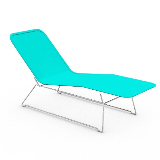 Cad 3D Free Model zanotta  soft_chaise_longue