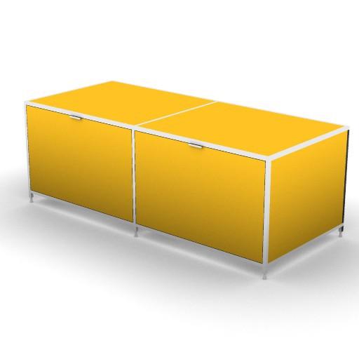 Cad 3D Free Model zanotta  soho_74070_b