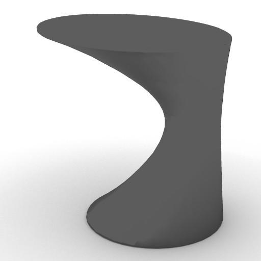 Cad 3D Free Model zanotta  tod_tavolino