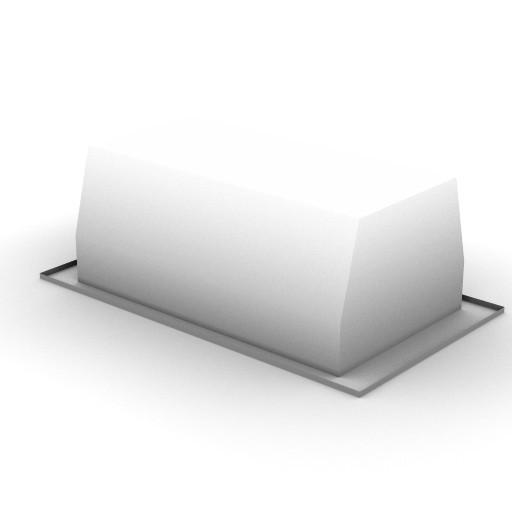 Cad 3D Free Model zumtobel  blanking_insert